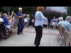 88 year old proves dancing keeps you young! - YouTube