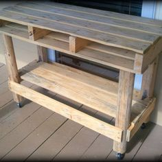 Pallet  Like our Facebook page! https://www.facebook.com/pages/Rustic-Farmhouse-Decor/636679889706127