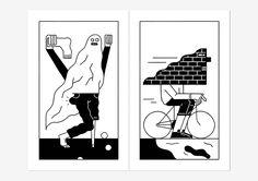 Gino Bud Hoiting X Lennard Kok :: 'Give and Go' zine   People of Print