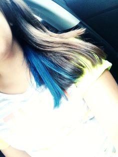 Mavi Saçlar