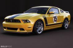 2012 Ford Mustang Boss 302 Laguna Seca Édition Limitée