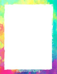 Free colorful border templates including printable border paper and clip art versions. File formats include GIF, JPG, PDF, and PNG. Page Boarders, Boarders And Frames, Printable Border, Printable Paper, Printable Labels, Page Borders Design, Border Design, Create Flyers, Border Templates