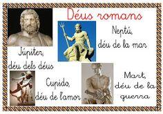 Mi grimorio escolar: DIOSES ROMANOS