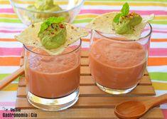 Gazpacho con aguacate