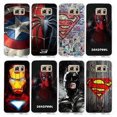 Find More Phone Bags & Cases Information about Marvel Superhero Collection Deadpool Avengers Case for…