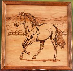 Horse Trot by TerrysNiche on Etsy, $85.00