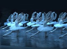 Bolshoi's corps du ballet as Shades in La Bayadere