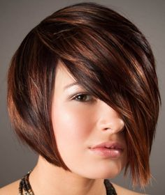 chestnut brown hair with caramel and copper highlights short hair - Google Search