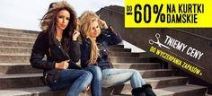 Mamy dobrą wiadomość dla Pań.  Tniemy ceny kurtek damskich nawet do -60% Sprawdź: http://www.denley.pl/pol_m_Ona_Kurtki-damskie-327.html