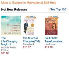 """I'm about to turn 64 on March 4th, so something about having Amazon call my new book SOUL SHIFTS """"a hot new release"""" makes me smile!!!! And it IS a hot new release! See more here: http://www.amazon.com/Soul-Shifts-Transformative-Authentic-Spirituality/dp/1401944426.  When you order the book, I have fabulous, valuble thank-gifts, so register to receive them on my website: http://barbaradeangelis.com/soul-shifts/"""