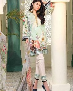 df02b3d641 Johra Divine Dijital Embroidered Lawn collection 2018 Archives - Umar  Poshak Mehal Bell Sleeves, Bell