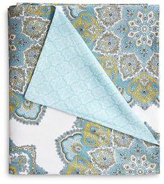 Echo Indira Aqua Comforter Set, California King