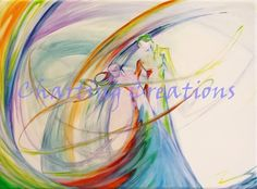 As One, Music, Dance and Harmony what else do you need? Cross Stitch Charts, Cross Stitch Patterns, Dragon Silhouette, African Colors, Watercolor Canvas, Saatchi Art, Original Paintings, Things To Come, Colours