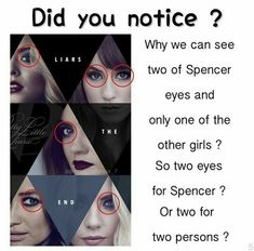 Yeah I had noticed that before Alex appeared but I thought it was just smt else. Pretty Little Liars Meme, Preety Little Liars, Pll Logic, Liar Meme, Pll Memes, Images Disney, Little Memes, Dramas, Song Playlist