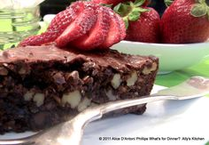 Have some Ghiradelli Brownie Pie!