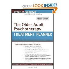 The Older Adult Psychotherapy Treatment Planner (PracticePlanners): Deborah W. Frazer, Gregory A. Hinrichsen, Arthur E. Jongsma Jr.: 9780470...
