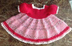 Valentine Crochet Dress 3 months PATTERN von JeansNeedles auf Etsy