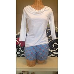 RARE Lilly Pulitzer Anchors Away Shorts Only used once or twice! Super cute and very rare. I do trades!! $85 on ️️ Lilly Pulitzer Shorts