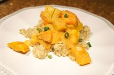 Quinoa with Curried Sweet Potato and Butternut Squash
