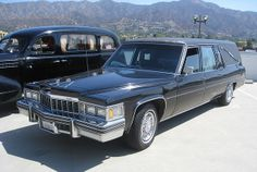 Cadillac Hearse Funeral Jokes, Terminal Velocity, Death Becomes Her, Flower Car, Horse Drawn, First Car, Limo, Ambulance, Cadillac