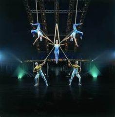 Cirque du Soliel: Watching or Performing (Ha)
