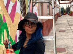 La curandera totonaca . . . . #youngartist #streetart #zavet #aftertheearthquake #cdmx #mexico