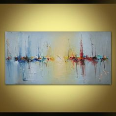 """Learn additional details on """"abstract art paintings tutorial"""". Browse through our internet site. Abstract Canvas Art, Oil Painting Abstract, Acrylic Art, Art Original, Original Paintings, Arte Obscura, Canvas Wall Decor, Seascape Paintings, Art Paintings"""