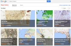 awesome Google Maps Gallery debuts as Web's interactive digital atlas