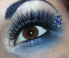 Sailor Mercury inspired Make Up  http://talasia.blogspot.de/2012/09/amu-sailor-mercury-inspired-make-up.html