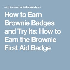 What to do in an emergency printable for brownie first aid badge how to earn brownie badges and try its how to earn the brownie first aid malvernweather Images