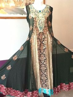 NEW PAKISTANI INDIAN FANCY WEDDING SHAADI SHALWAR KAMEEZ DRESS 3PC XLARGE SUIT #SHALWARKAMEEZSALWAR