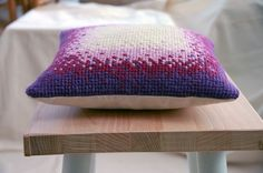 Handmade Cross-stitch Cushion