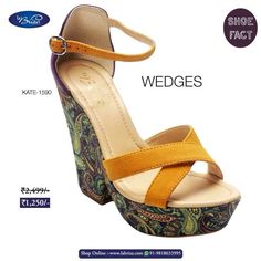 Famous designer Salvatore Ferragamo was impacted by the shortage of steel in the 1940s. He came up with the idea to use different materials and design; thus the invention of summer favourite: The Wedge. #labriza #colorful #wedges #comfy #trendy  #loveshoes #musthaveshoes #Thursday #intrend #style #fashion #comfort #highfashion #fashionista #shoeaholics #shoesporn #shoestore #shoeslover #shoesaddict #shoesaholic #shoestagram #shoesfordays #comfy #shoesforsale #shoeshopping #shoes