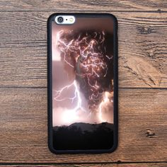 Terrifying thunderstorm clouds Case For IPhone