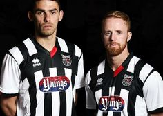 Grimsby Town FC 2015/16 Errea Home Kit