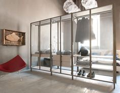 WALK IN CLOSET, Where Fashion and Design meet to Construct the Perfect Background for your Clothes. We would like to present you a list of beautiful closets. #WalkinCloset #interiordesign #furniture