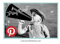 {10 Tips for Playing on Pinterest} Do you have any tips for playing on Pinterest beyond on these? We are also excited to share with you a list of Pinterest friendly blogs to check out & safely pin, pin, pin from!