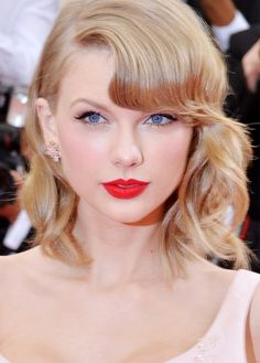 5 Taylor Swift-Approved Red Lipsticks via @byrdiebeauty