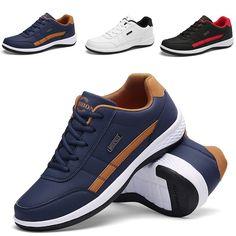 Buy Men's Fashion Casual Shoes Sports Running Shoes Men's Shoes at Wish - Shopping Made Fun Trendy Mens Shoes, Mens Fashion Casual Shoes, Casual Sneakers, Men Fashion, Men Casual, Fashion Vest, Fashion Hair, Fashion Boots, Shoe Storage Air Jordan