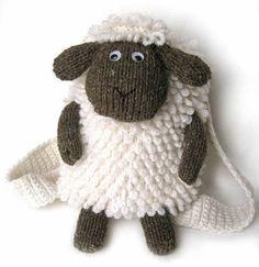 Shaun le mouton sac à dos | Main Senpolia