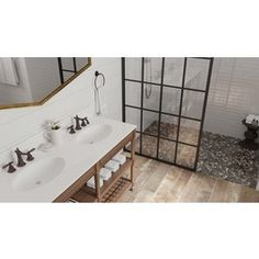 Shop Style Selections River Rock Multicolor Flat Polished Pebble Mosaic Wall Tile Common X Actual