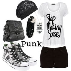 Punk Funk, created by barbra-kirsten12 on Polyvore