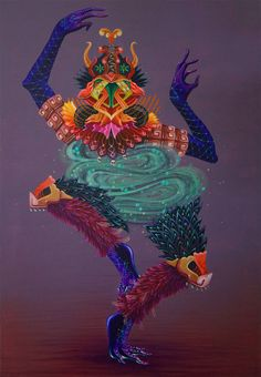 Cosmic Dance by Curiot.
