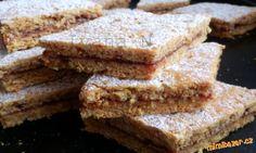 Mrkvové řezy s ovesnými vločkami French Toast, Breakfast, Food, Fitness, Morning Coffee, Essen, Meals, Yemek, Eten
