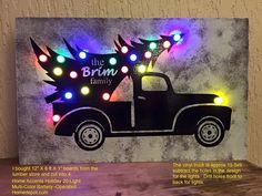 Cricut Christmas Ideas, Battery Operated, Home Accents, Drill, Monster Trucks, Lights, Holiday, Color, Design