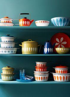 12x vintage servies voor in huis