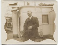 Our staff recently uncovered a ghost story in the collection. They pieced together morbid telegrams, wistful letters, and this photo to tell the story of Edward Ray, who went to work on the Panama Canal. #seriouslyamazing