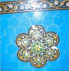 Fig. 9: Samarcande, Shah-e Zenda. Salle du cénotaphe de Qutham b. 'Abbas.