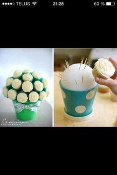 Bouquet de cupcakes ;-)