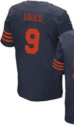 """$78.00--Robbie Gould Throwback Elite Jersey - Nike Stitched Chicago Bears #9 Jersey,Free Shipping! Buy it now:click on the picture, than click on """"visit aliexpress.com"""" In the new page."""